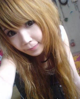 Korean girls hairstyle. Emo Hairstyles for Asian Teenage Girls