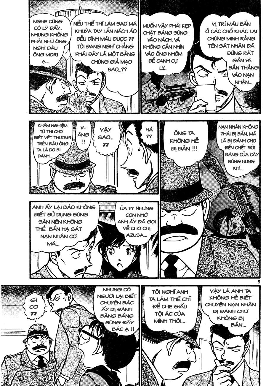 Detective Conan - Thám Tử Lừng Danh Conan chap 642 page 5 - IZTruyenTranh.com