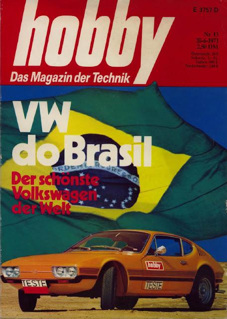 Capa da revista Hobby - O VW mais bonito do mundo!