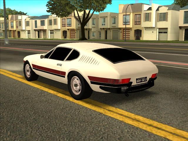 Volkswagen SP2 modelado em 3D
