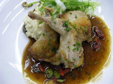 QUAILS WITH SUNDRIED TOMATO JUS