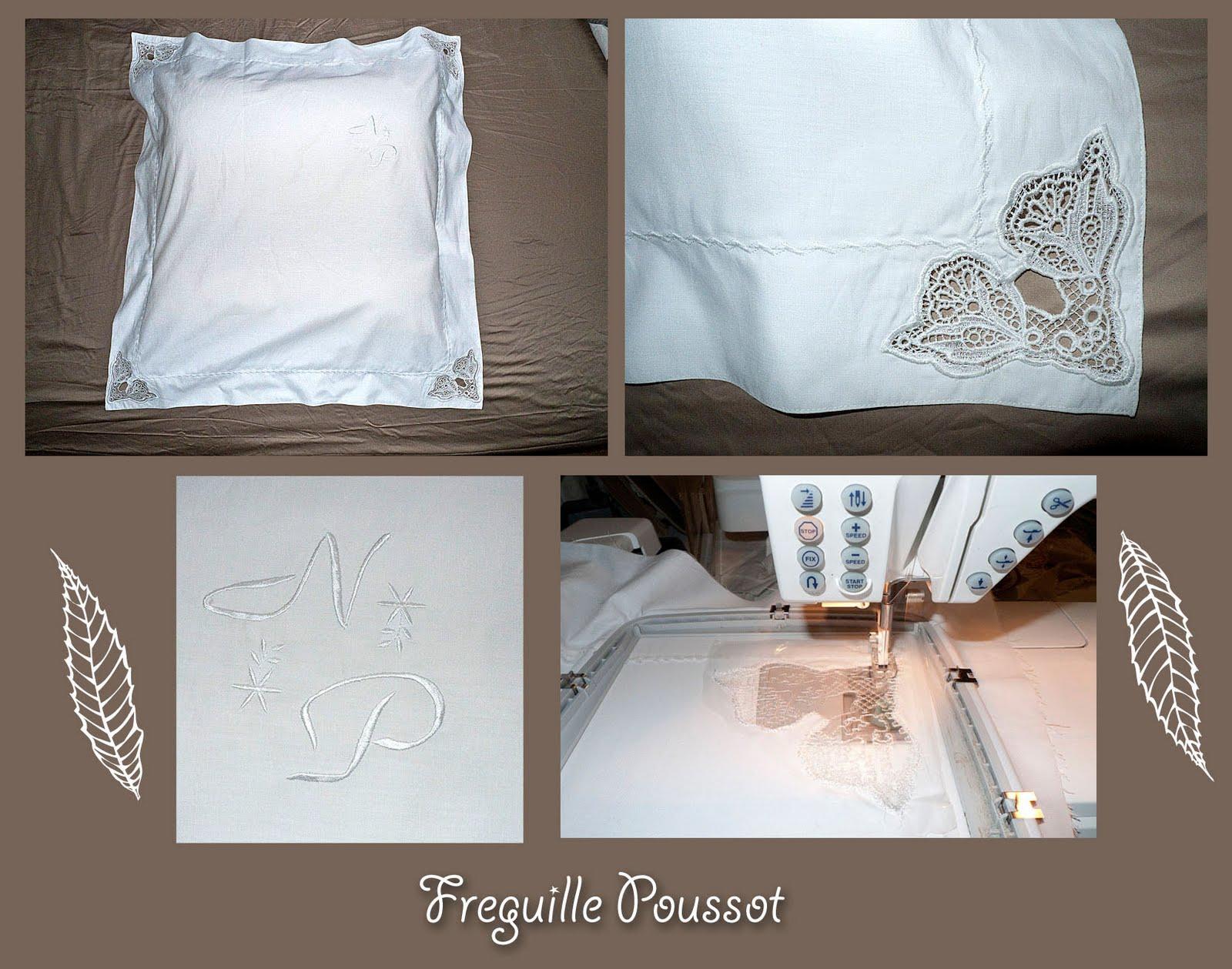Freguille poussot une taie d 39 oreiller - Une taie d oreiller ...