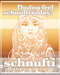 schnufti female buddha apparel