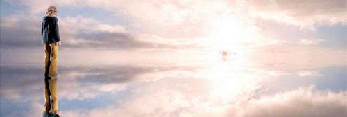 Saoirse Ronan em seu paraíso particular