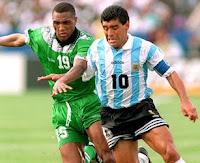 Maradona - Argentina x Nigeria 1994