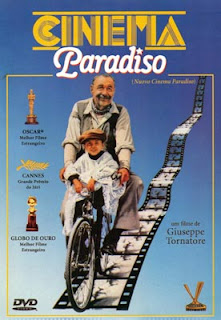 cartaz de Cinema Paradiso