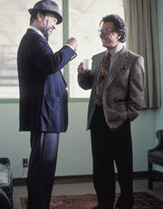 Robert De Niro e Dustin Hoffman