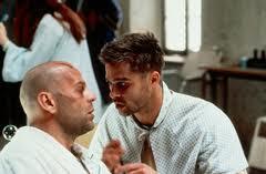 Bruce Willis e Brad Pitt