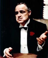 O Poderoso Chefão - Don Corleone - Marlon Brando