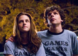 Kristen Stewart e Jesse Eisenberg