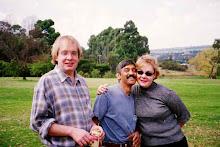 Trevor, Bee & Kirsten 2000