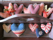 Antique Coverlet Hearts