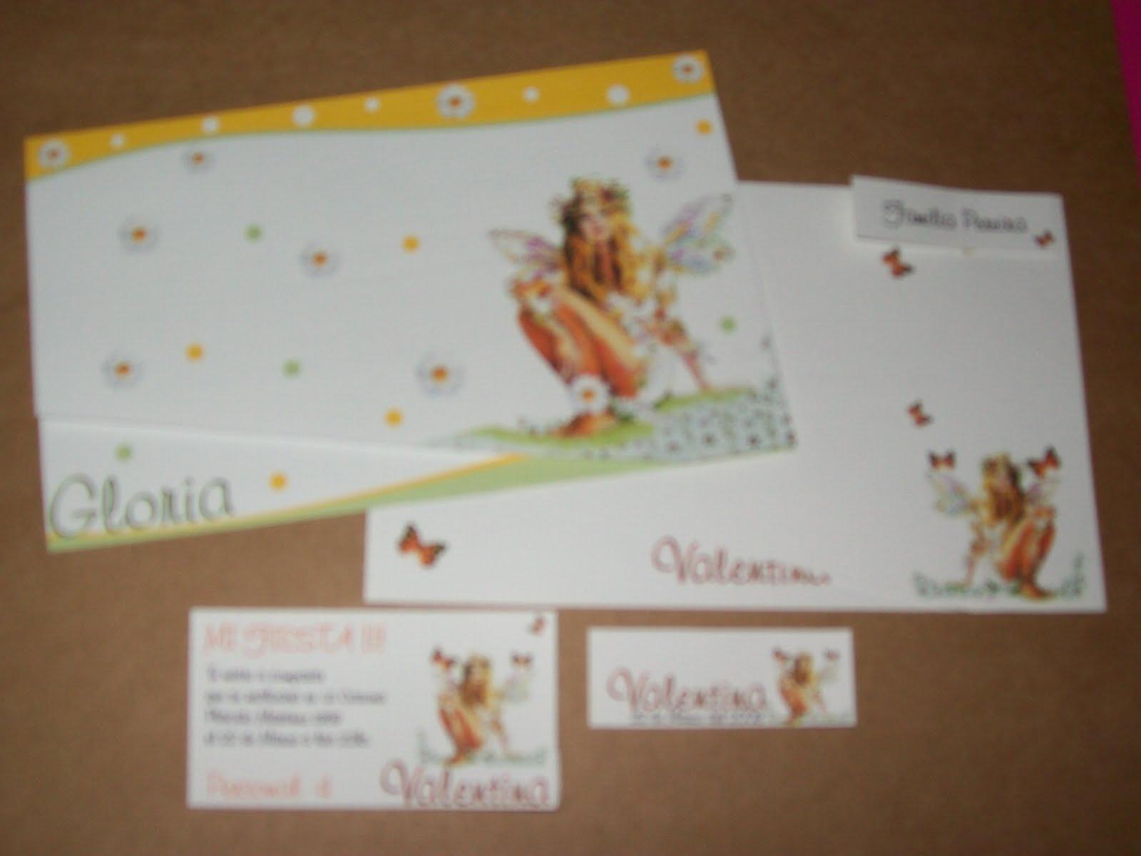 Vision imprenta y diseño: Tarjetas motivo HADAS