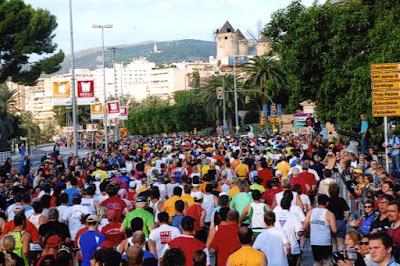 Mallorca Marathon: der Start!