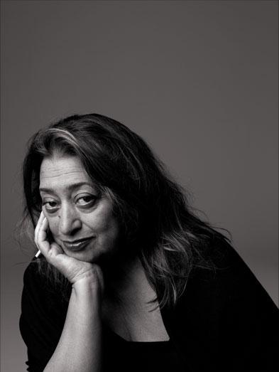 Archi choong zaha hadid world class deconstructivist for Famous british designers