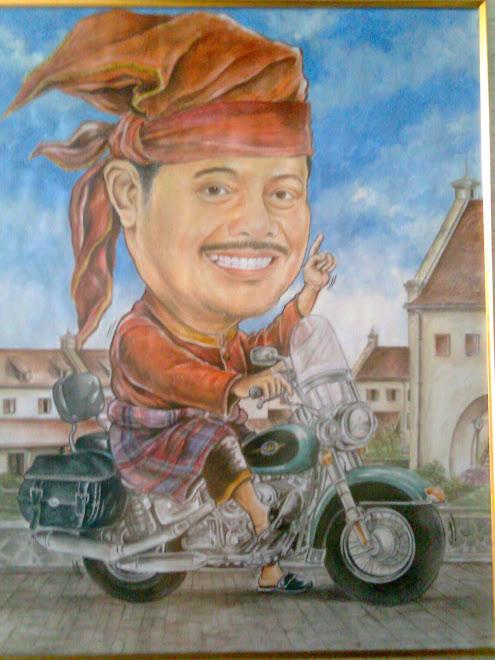 - Karikatur Syahrul Yasin Limpo ( Gubernur Sulawesi Selatan )..