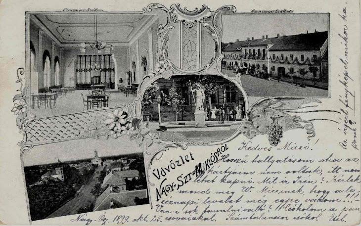 Hotelul Czenczinger din Sannicolau Mare