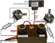 Conexion electrica a la bateria y switch