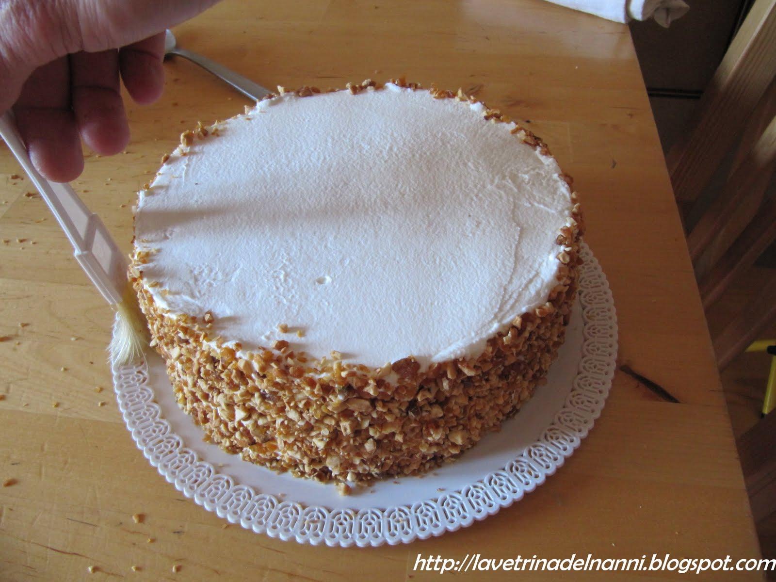 La vetrina del nanni torta di capodanno for Decorazioni di cioccolato per torte