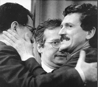Prodi, D'Alema e Veltroni elezioni 1996