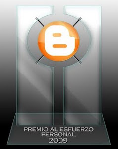 Premio al esfuerzo 2009