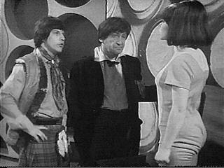 The Doctor doesn't approve of cross-dressing