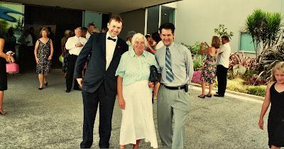 Steve, Pauline and Flatmate Dave