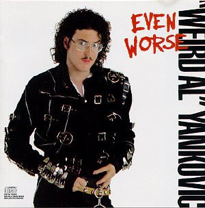 Weird Al, looking very thin