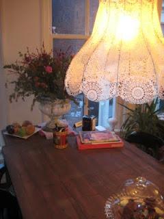 De wereld van fien november 2009 - Huis lamp wereld nachtkastje ...