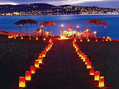 Beach Wedding Decorations on Beach Wedding Is The Best Romantic Wedding It Is Additionally The