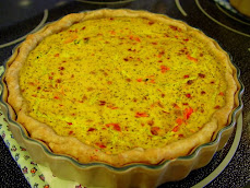 Vegetable & Tofu Quiche