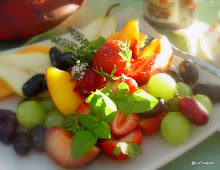 Summer Fruits with Agave and Mint
