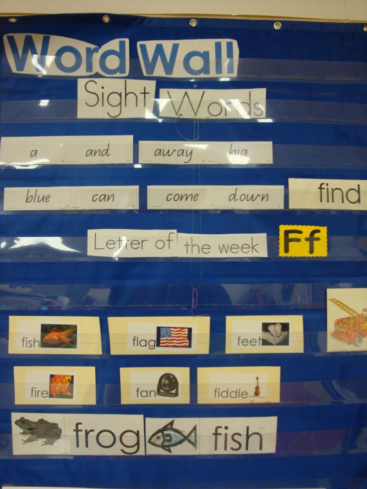 Word Wall Ideas For Preschool : Prek preschool ideas from noey word wall