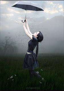 Девочка с зонтиком.
