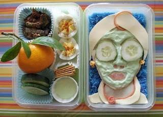 Овощная маска на лицо.