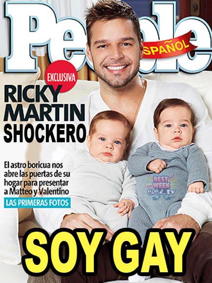 Ricky Martin, gay et fier : ''J'adorerais pouvoir refaire
