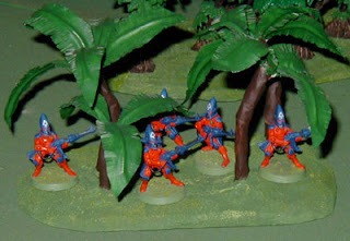 Guardian Defenders take up positions in the trees