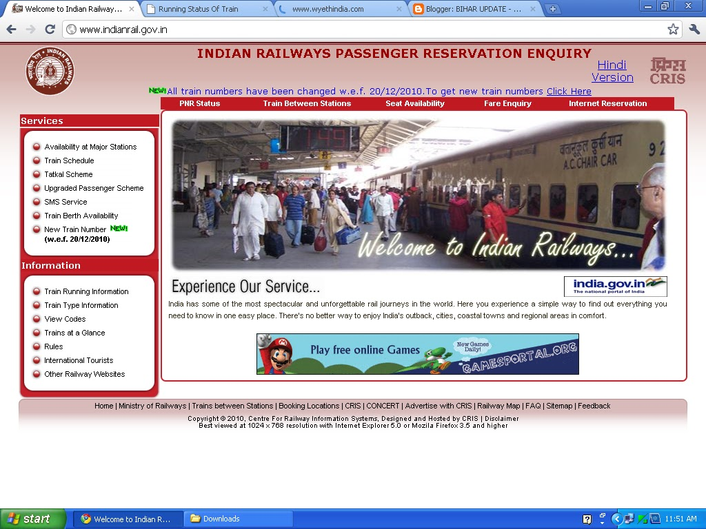 online railway passenger reservation A passenger can make advance reservations online through the irctc portal, which is the e-ticketing arm of indian railways advance reservations can be made up to 120 days in advance, excluding the date of journey at the train originating station, according to irctc's website - irctccoin to.