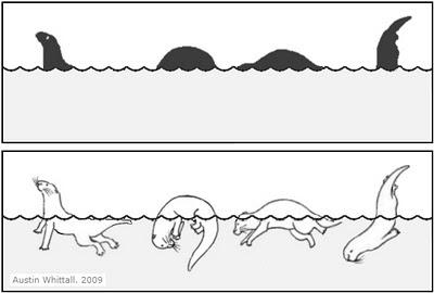 otter or lake monster