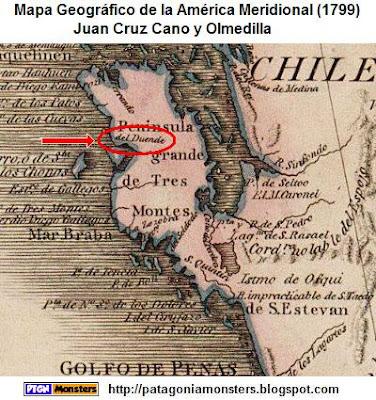 Duende mapa de Cano y Olmedilla