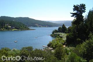 Lake Vichuquen, Chile