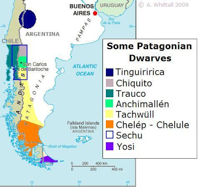 Patagonia map dwarves