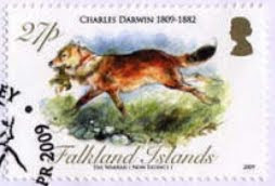 stamp warrah Malvinas Falklands