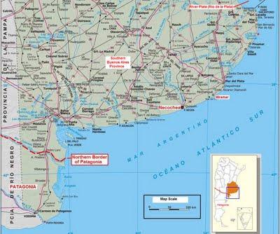 map Necochea