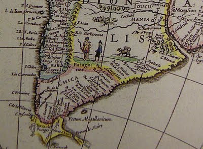 old map showing a Succarath