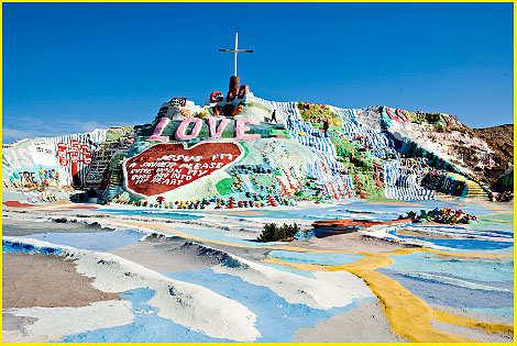 Assignment 6: Environmental Artist  Due Mar 13 Salvation+Mountain+Man+Made+Mountain+-+Slab+City+(10)