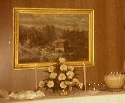 Betty organized a party for John & Dorothy.