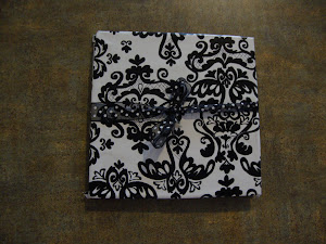 My zentangled mini book