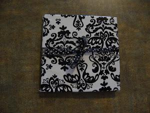 My zentangled mini book