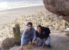 with gonza on the mountains of Punta Balasto